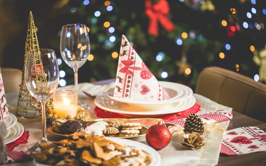 Kerstfeest vieren.