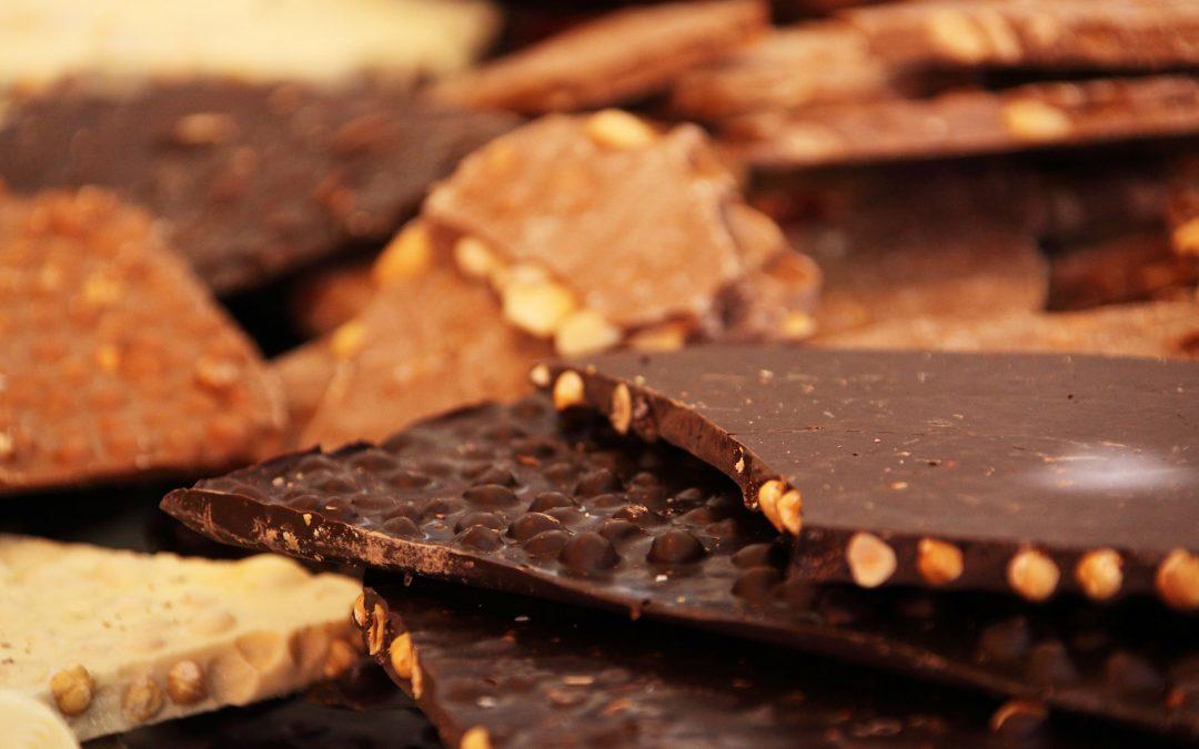 Chocolade lost geen problemen op
